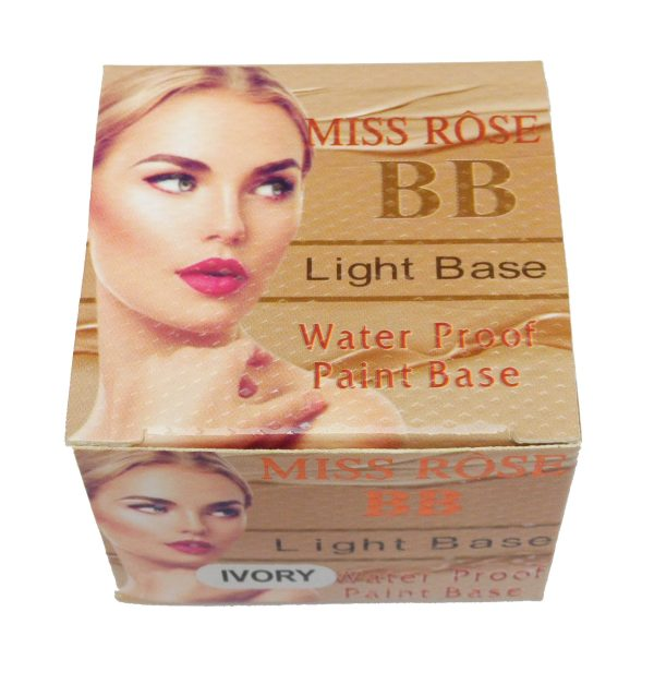 Miss Rose BB Light Base Water Proof Paint Base Ivory