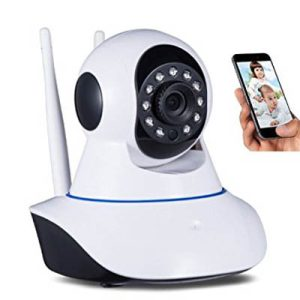 Wireless Wifi IP CCTV Security Camera V380 Dual Audio Online View 360