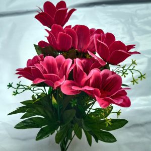 Artificial-Flowers-Red-1