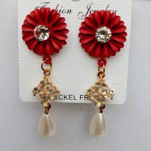Earrings-Flower-Multicolor