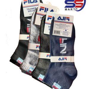 Fila Trainer Socks Low Rise Lowcut Socks for Men (2 Pairs Set)